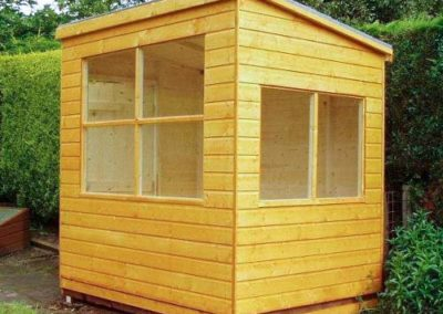 Small Summer House Shed